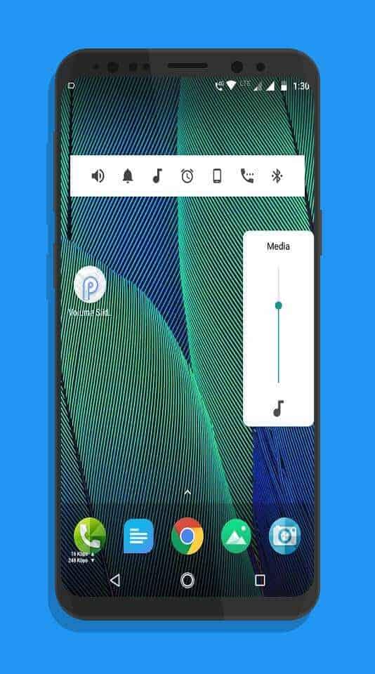 Android P Volume Slider P Volume Control Press Image 01
