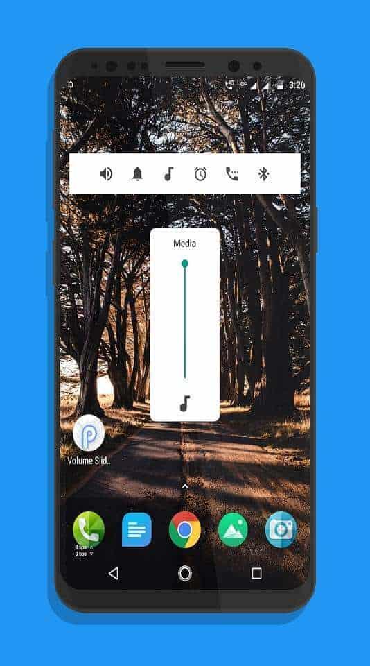 Android P Volume Slider P Volume Control Press Image 02