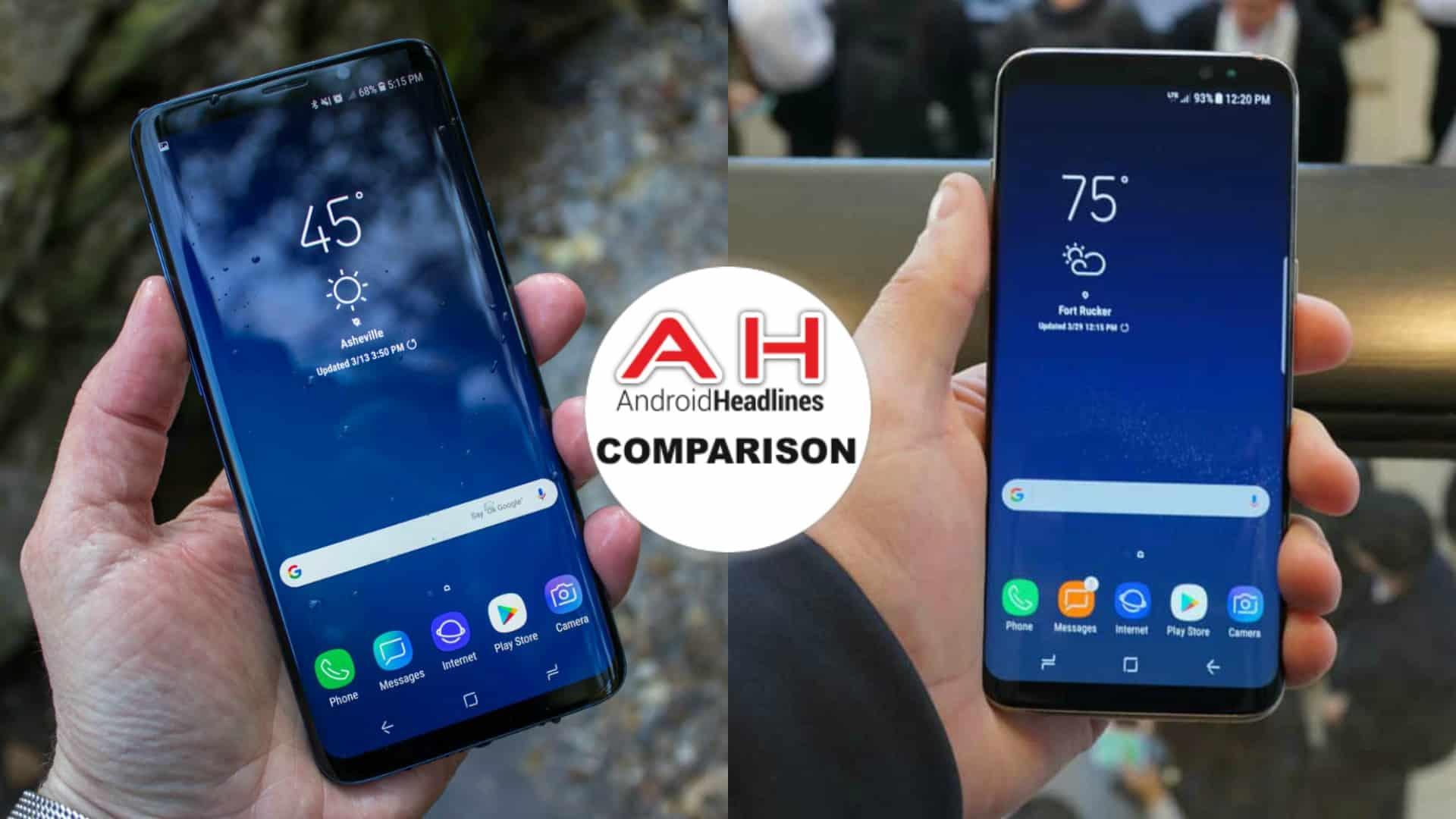 Phone Comparisons: Samsung Galaxy S9 Plus vs Samsung Galaxy S8 Plus