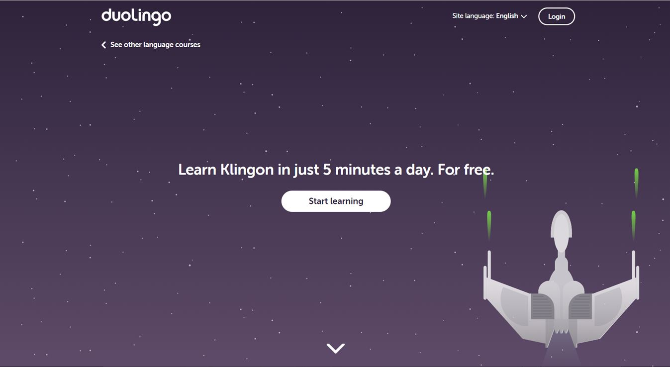 Klingon Finally Lands On Language Learning Service Duolingo | Androidheadlines.com