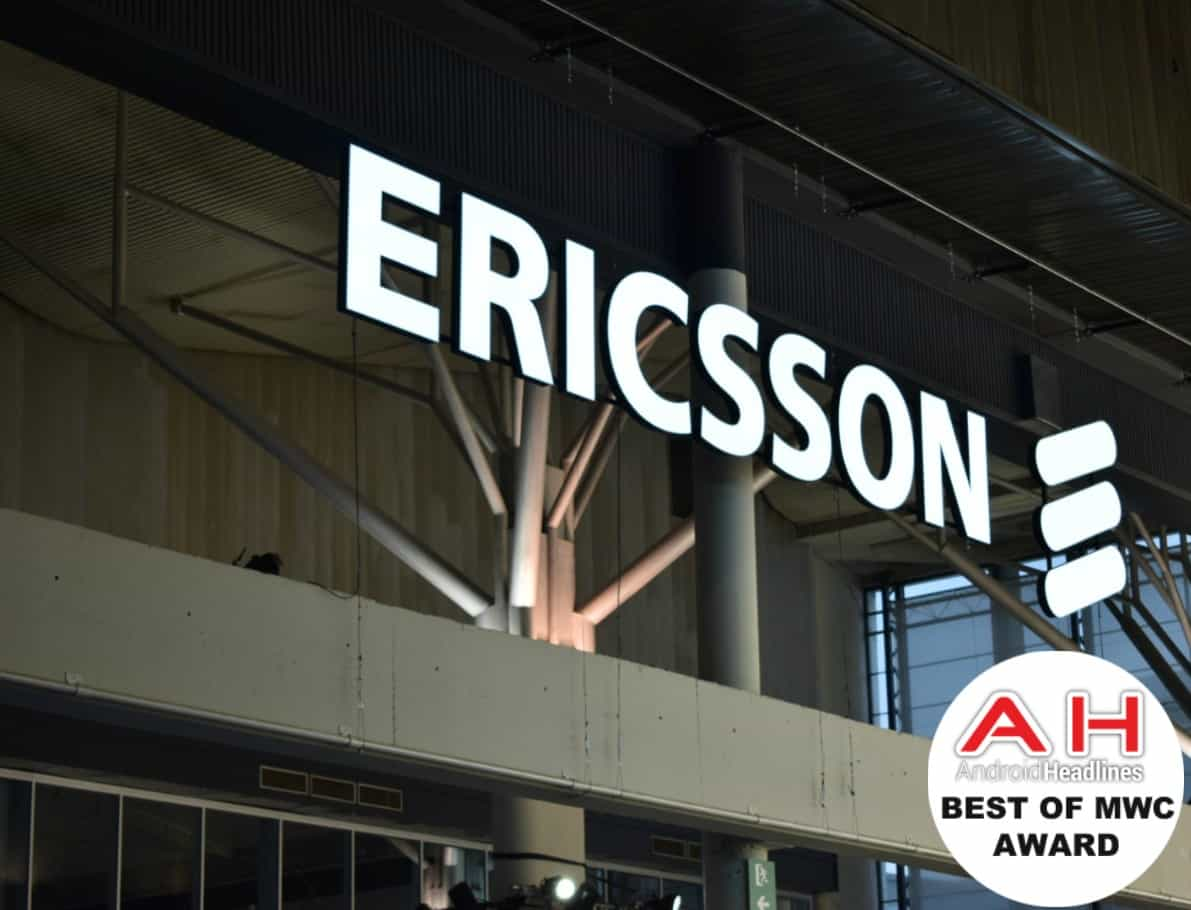 Ericsson MWC 18 Award AH