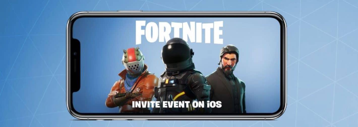 Fortnite Invite Event Mobile