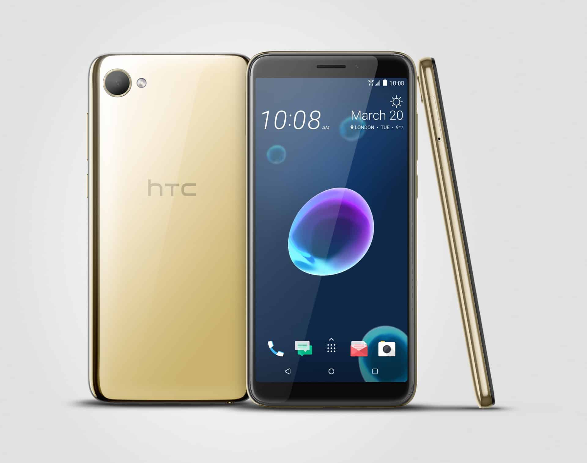 HTC's new Desire 12 phones have humdrum specs but splashy colors