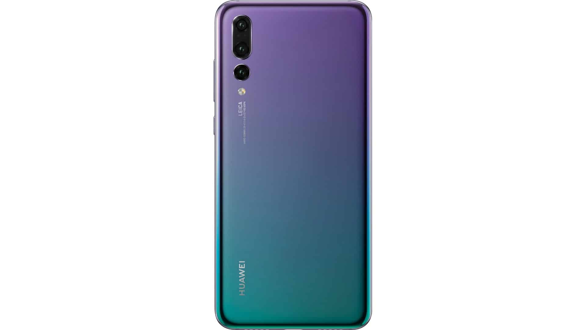 Third Huawei P20 Pro Color Leaks With Chromatic Style