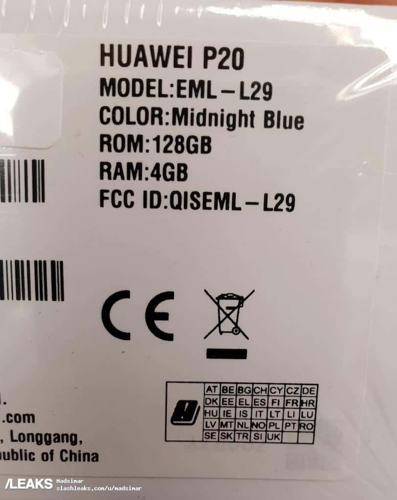 Huawei P20 real life image leak 111