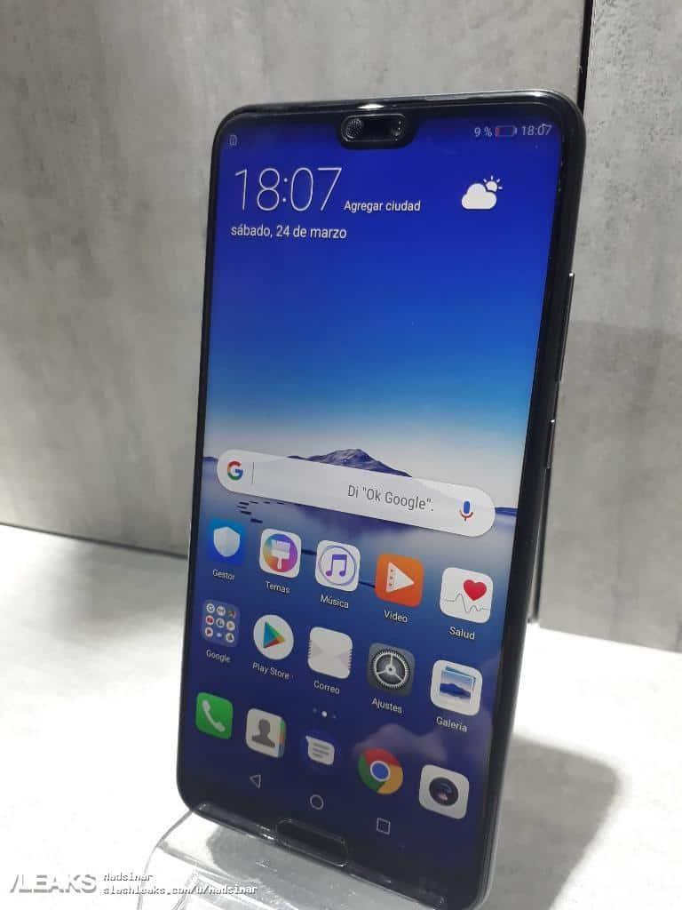 Huawei P20 real life image leak 120