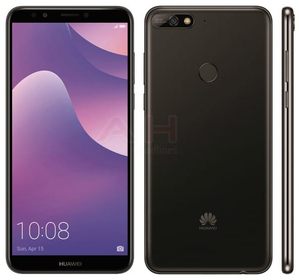 Exclusive This Is The Huawei Y7 2018 Android Smartphone