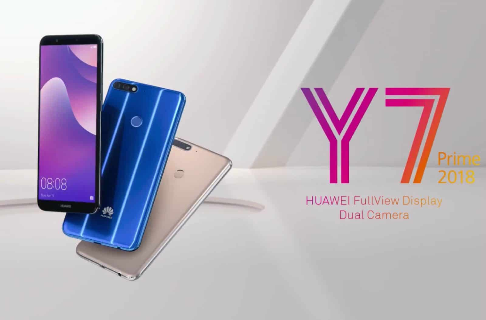 Huawei Y7 Prime 2018 Comes With 5 99 Inch Fullview Display