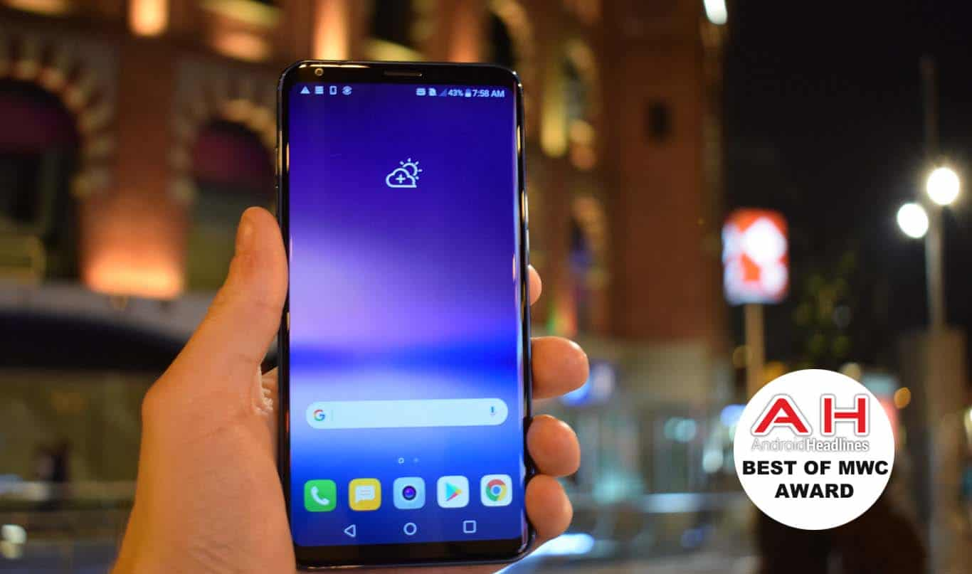 LG V30S ThinQ Best Of MWC AH