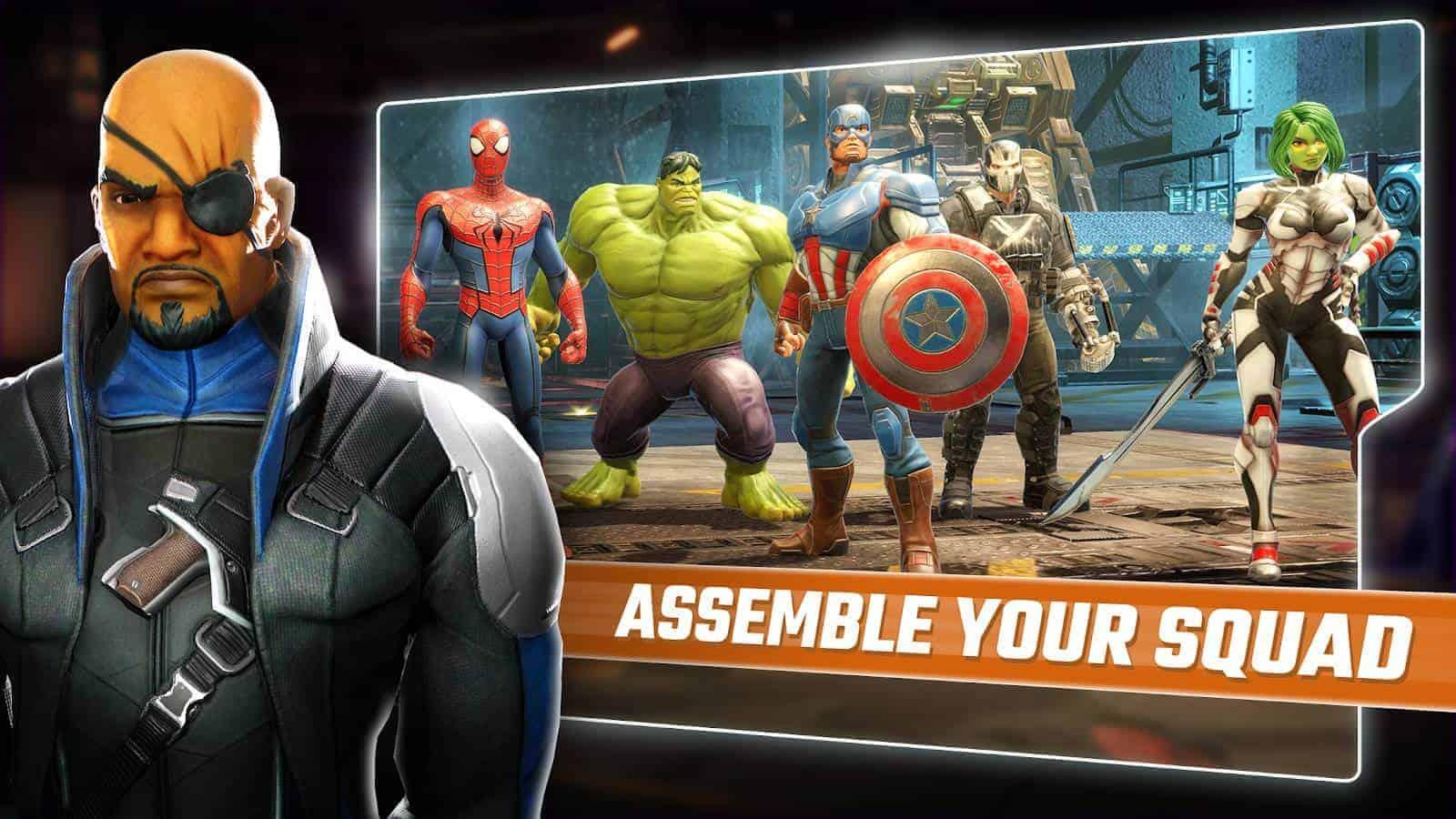 MARVEL Strike Force Google Play Screenshot 01