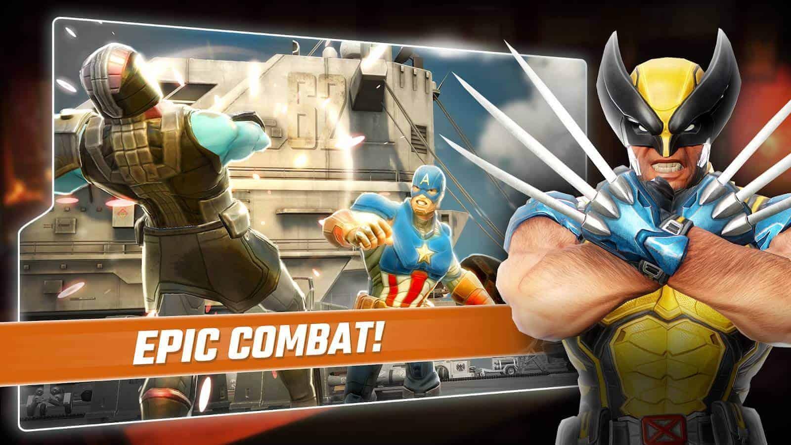 MARVEL Strike Force Google Play Screenshot 02