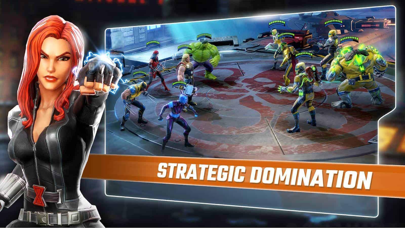 MARVEL Strike Force Google Play Screenshot 05