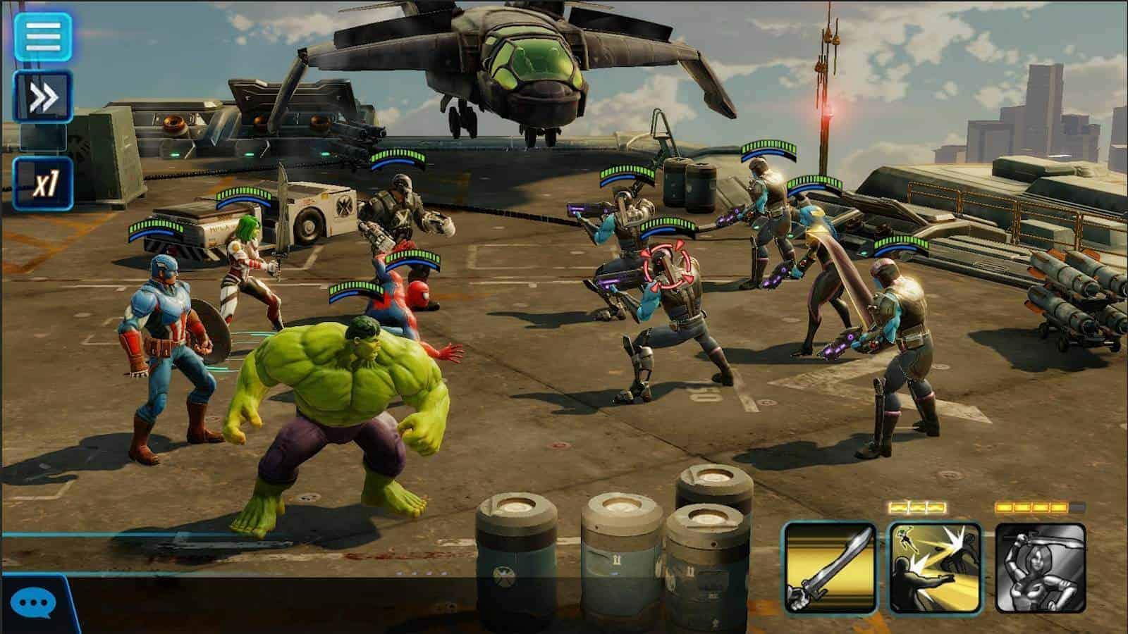MARVEL Strike Force Google Play Screenshot 06