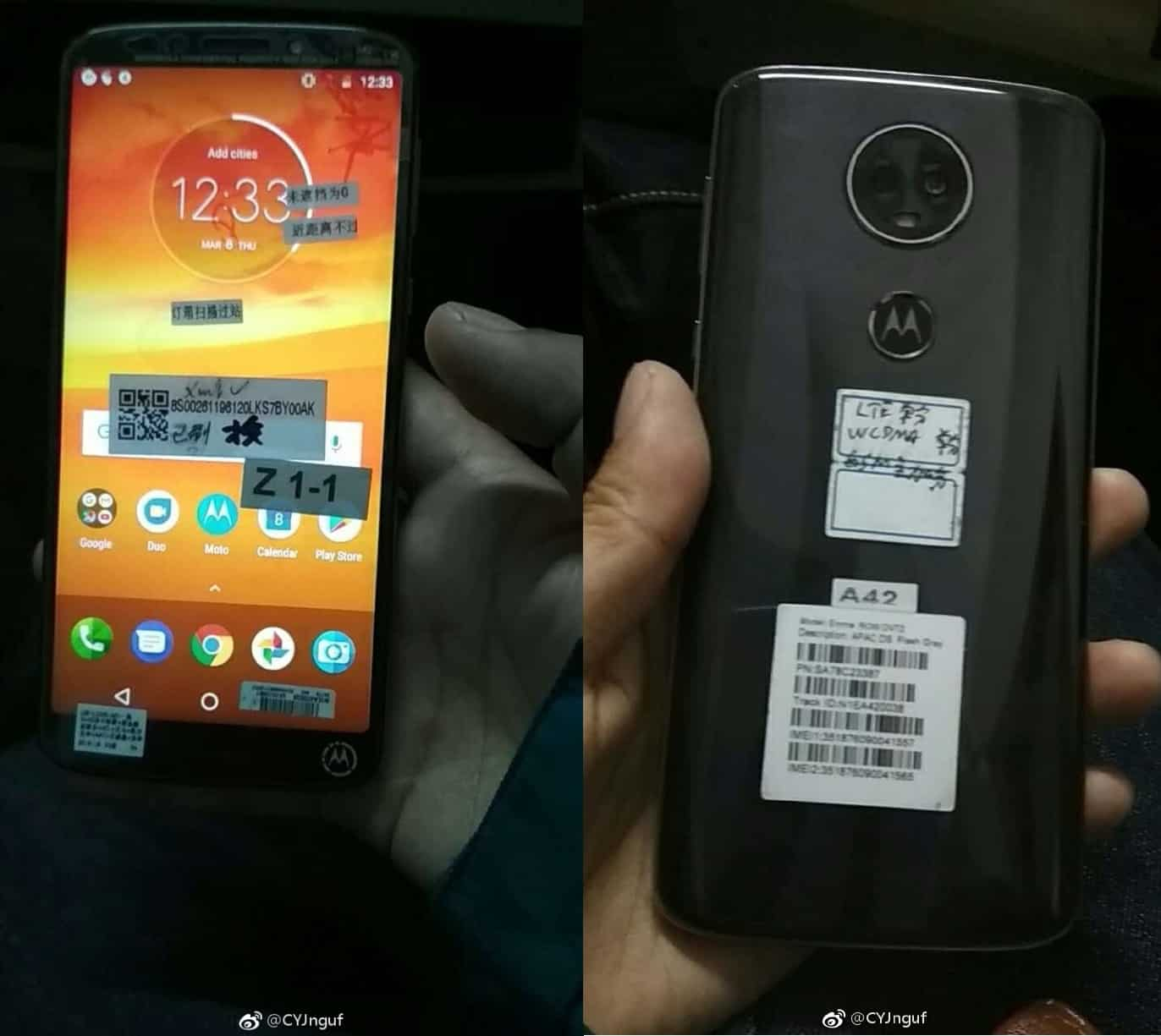 Best Car Buying Apps >> Moto E5 Plus Android Phone Leaks In New Hands-On Photos | Androidheadlines.com