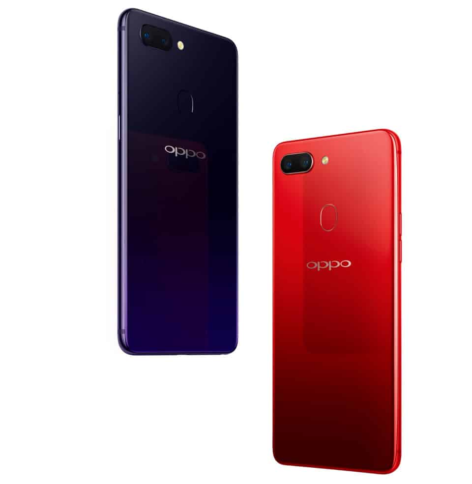 OPPO R15 official render 779