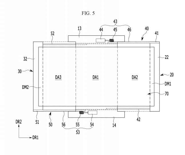 Samsung Expandable Display Patent 3