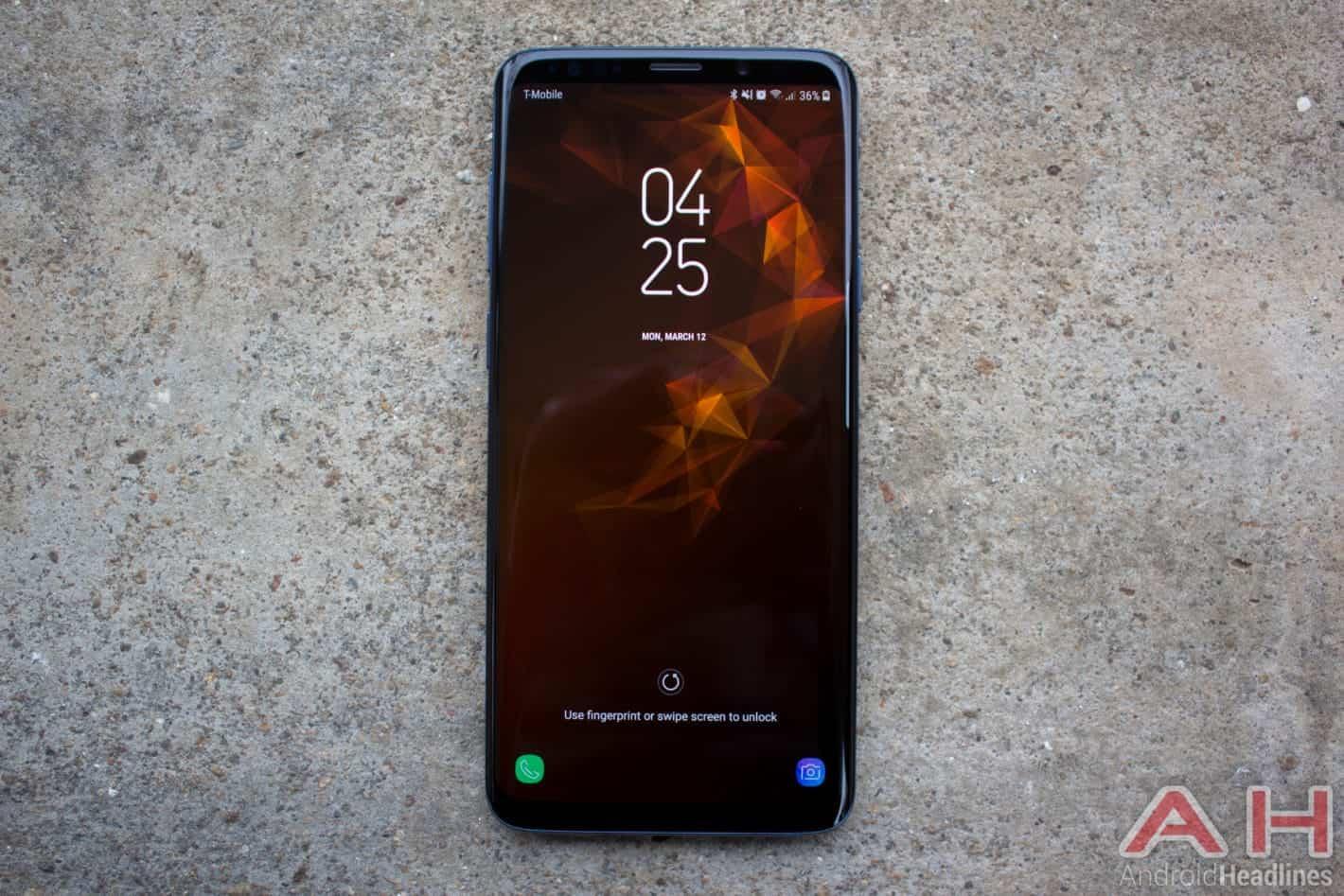 Samsung Galaxy S9 Plus AH NS 18 security