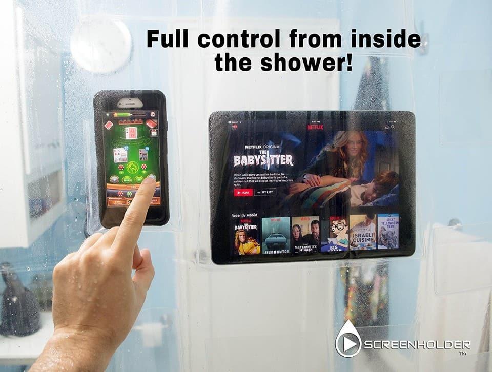 Screenholder Shower Curtain 03