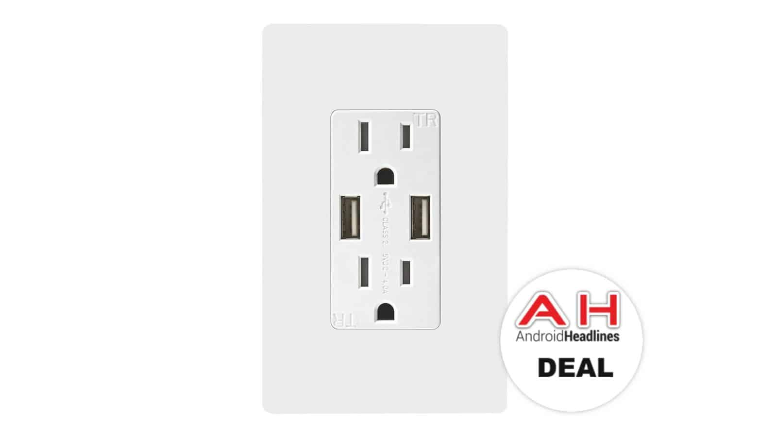 Deal: TOPGREENER Wall Outlet With 2 USB & 2 AC Outlets for $16 - 3/8 ...