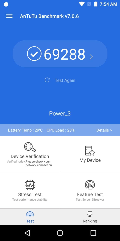 Ulefone Power 3 Review Benchmark 01
