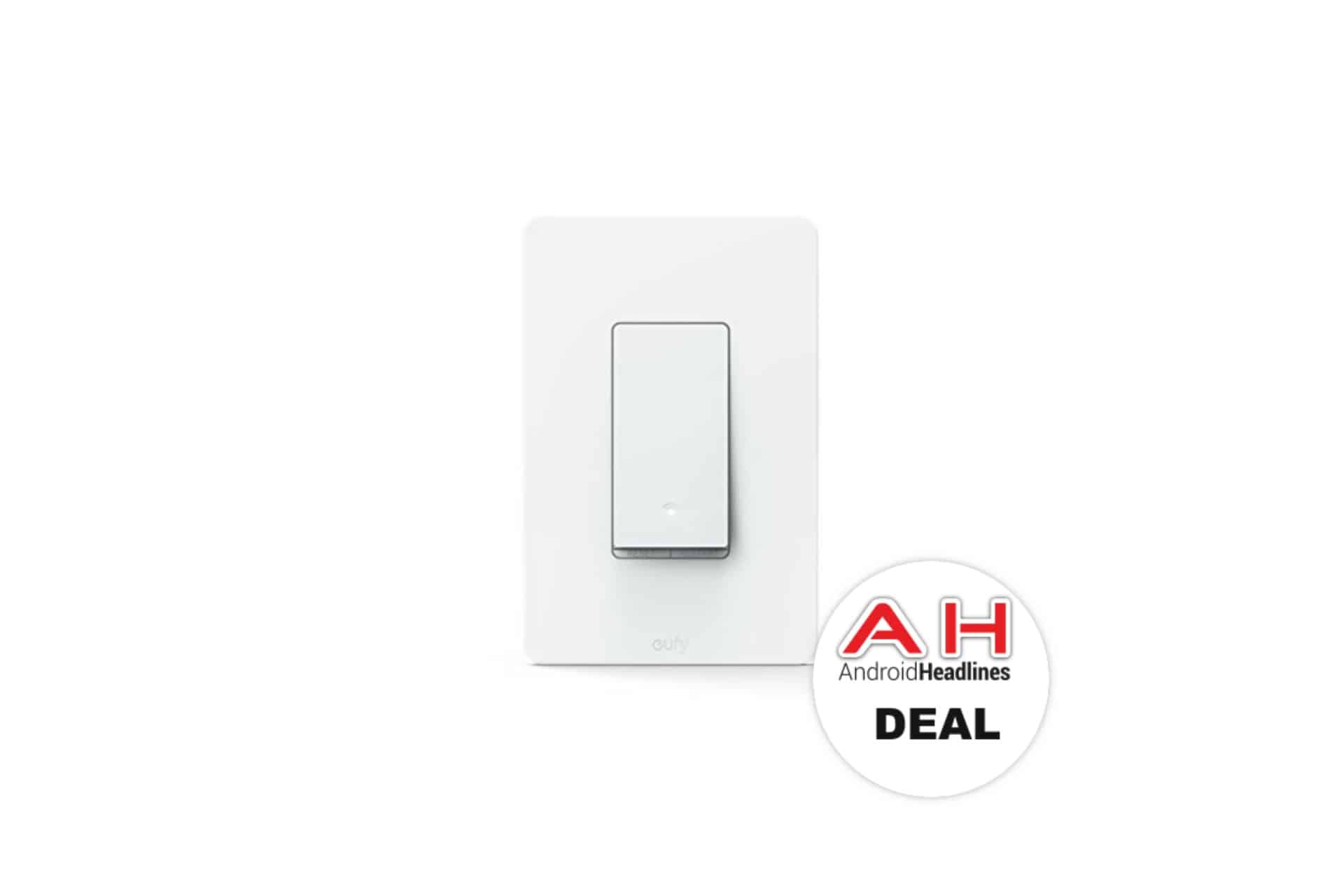 deal eufy smart switch works with amazon alexa for 25 3 23 18 android news. Black Bedroom Furniture Sets. Home Design Ideas