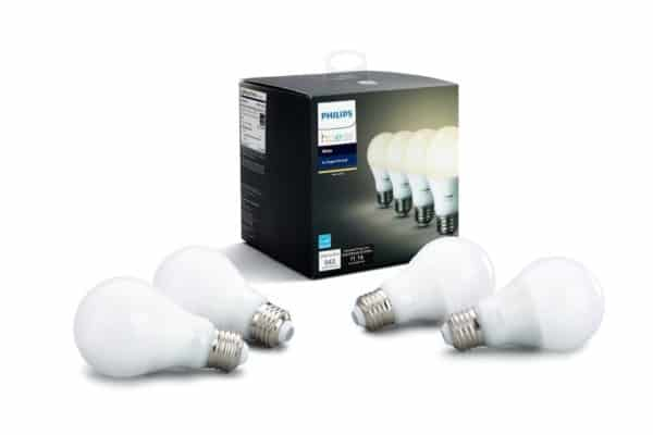 Philips Hue White A19 4-Pack