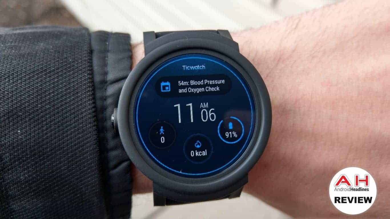 Ticwatch E Smartwatch Review