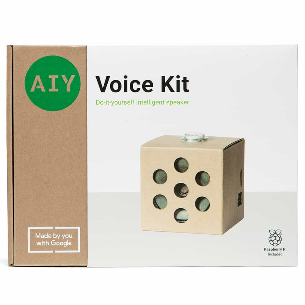 AIY Voice Kit Packaging1
