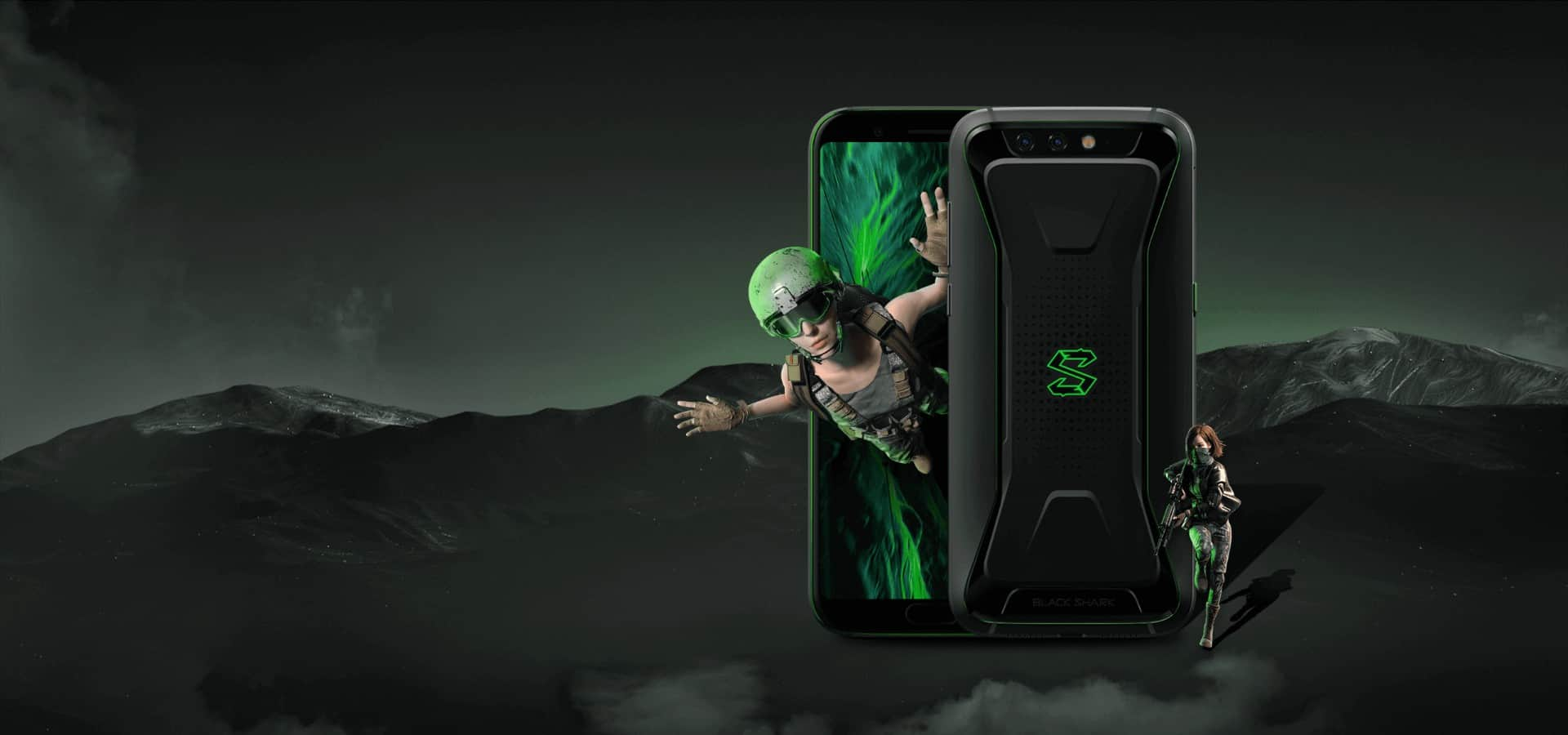 Black Shark Gaming smartphone official image 2