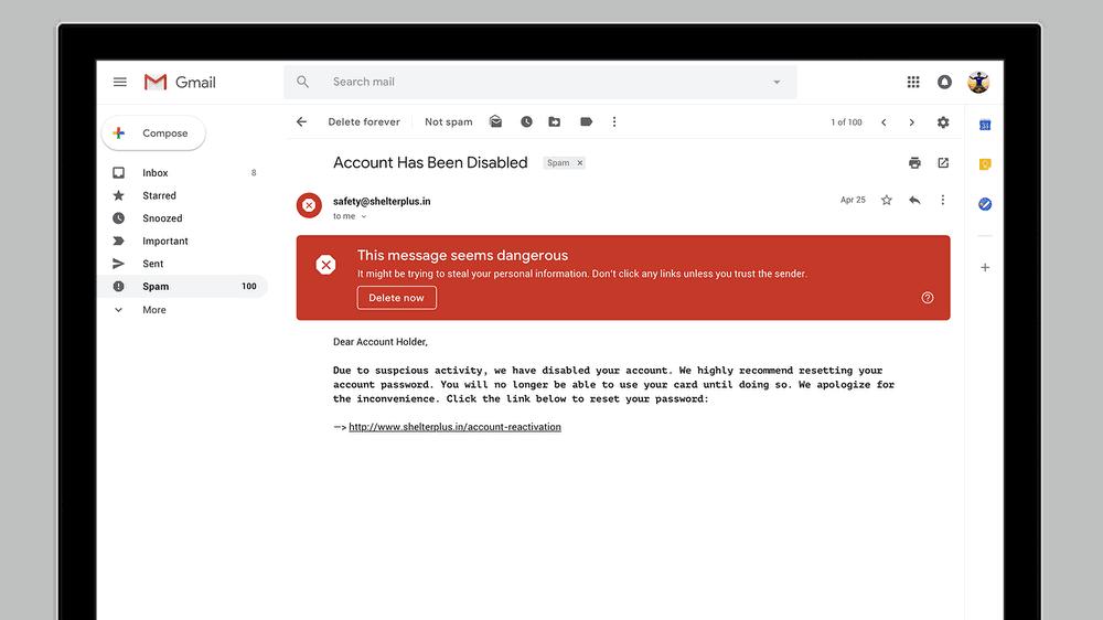 Google Gmail April 2018 Redesign 3
