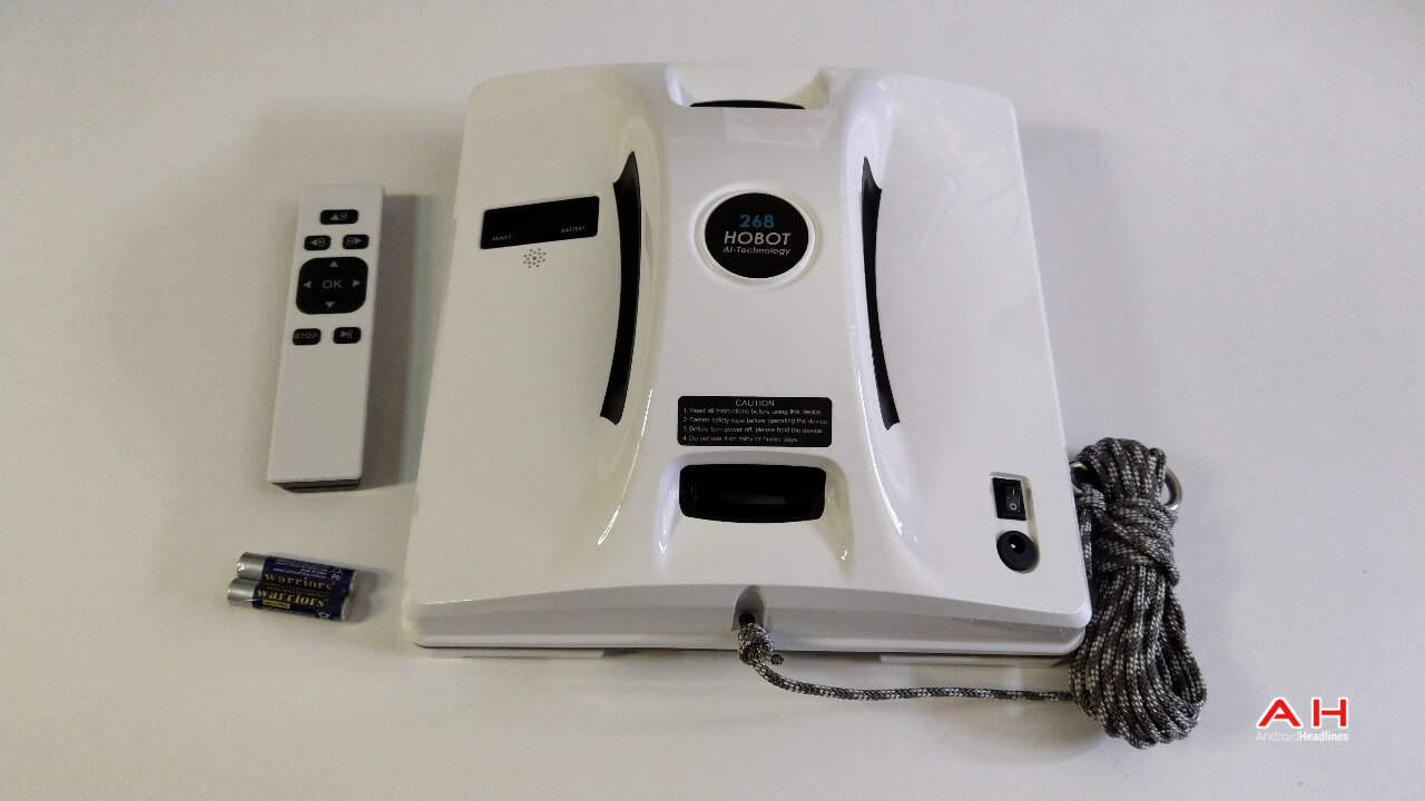 Hobot 268 Window Cleaning Robot Review Unboxing Sub 01 AH