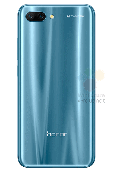 Honor 10 render leak WinFuture 5