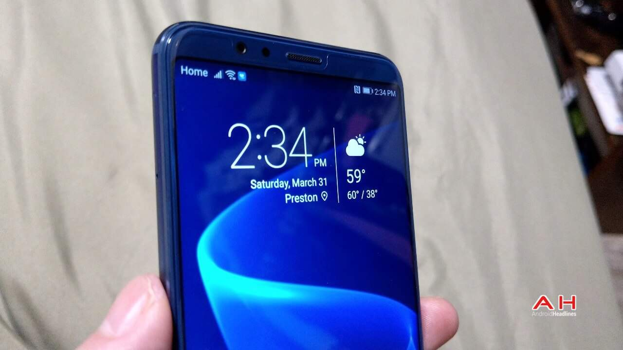 Honor View 10 Review Display 03 AH