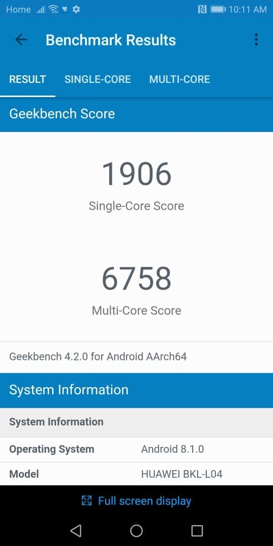 Honor View 10 Review Performance Bench 01 AH