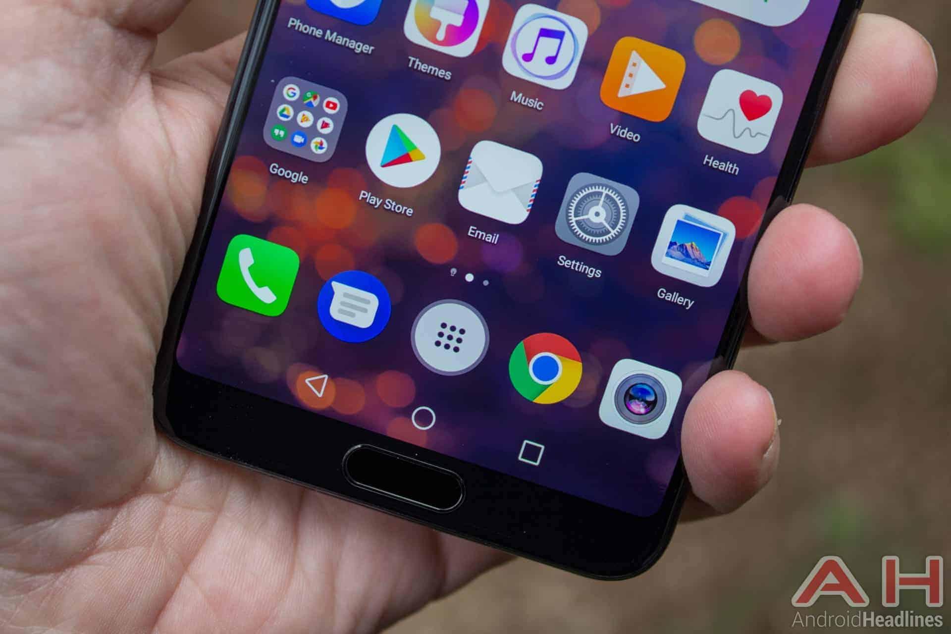 Huawei P20 Pro AH NS 25 fingerprint scanner chin