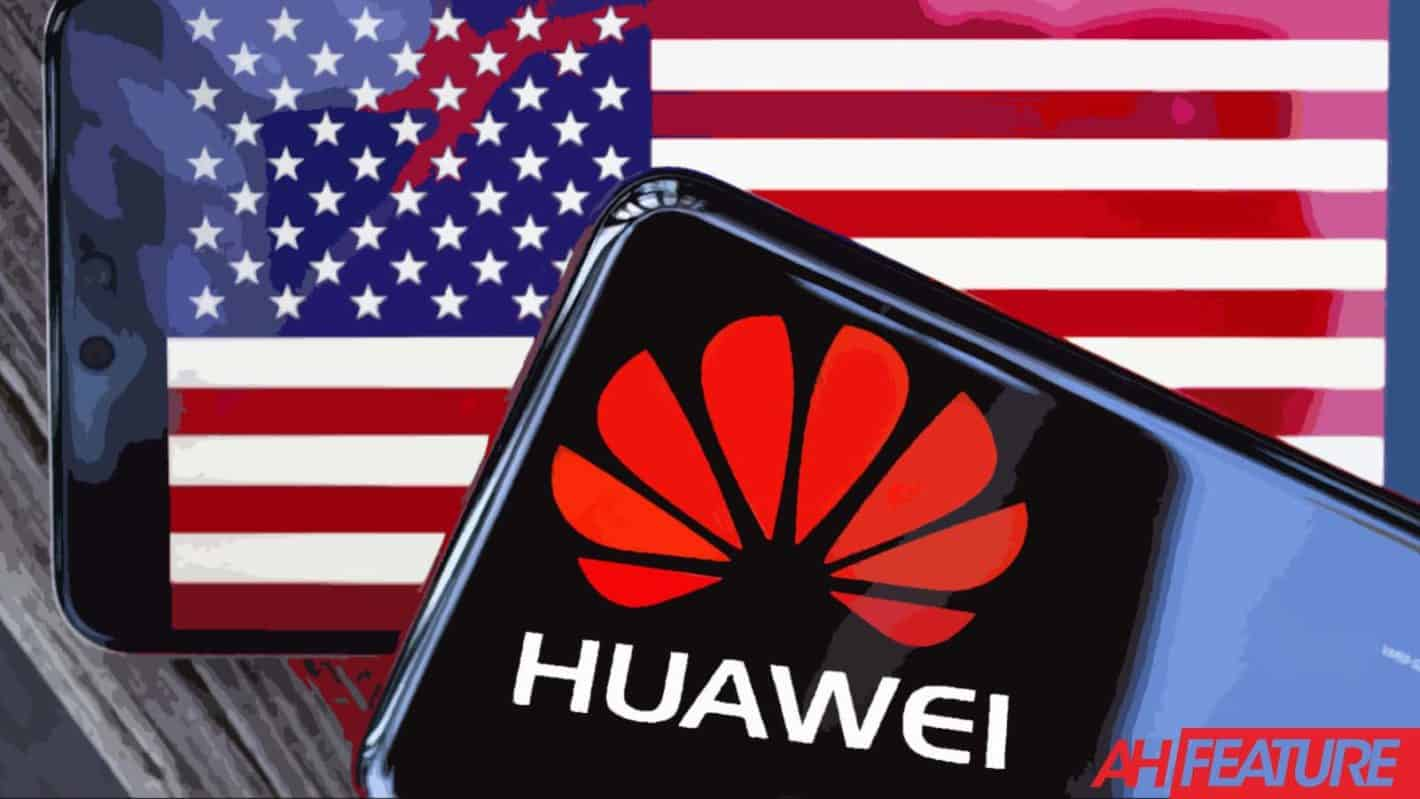 Huawei USA Flag Timeline Standoff Copy AH Illustration