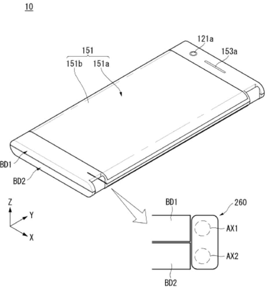 LG Foldable Phone WIPO April 5 18 1