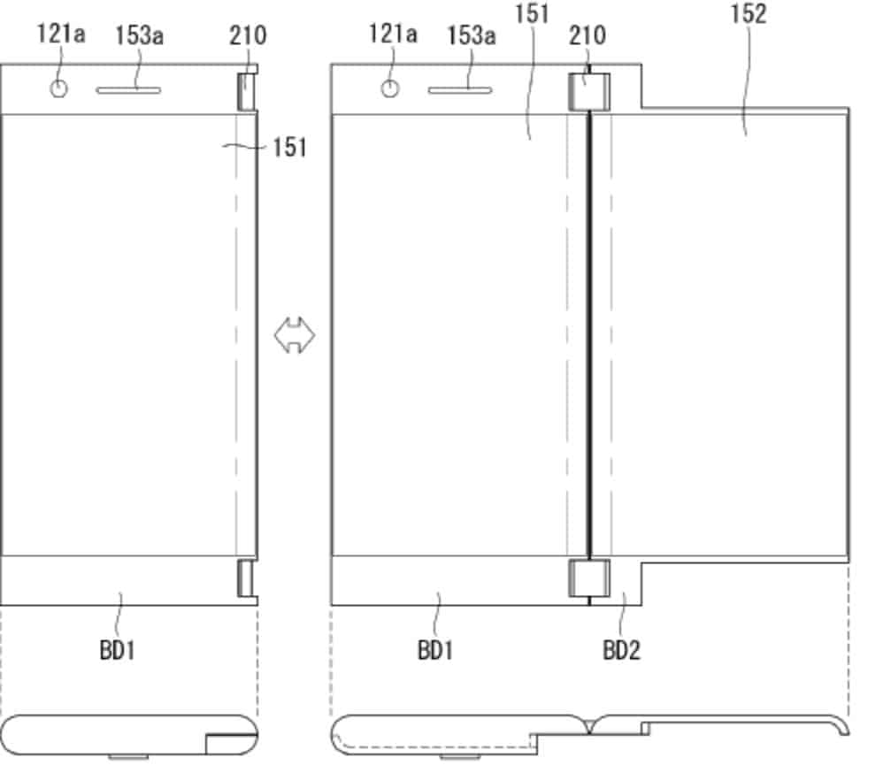 LG Foldable Phone WIPO April 5 18 9