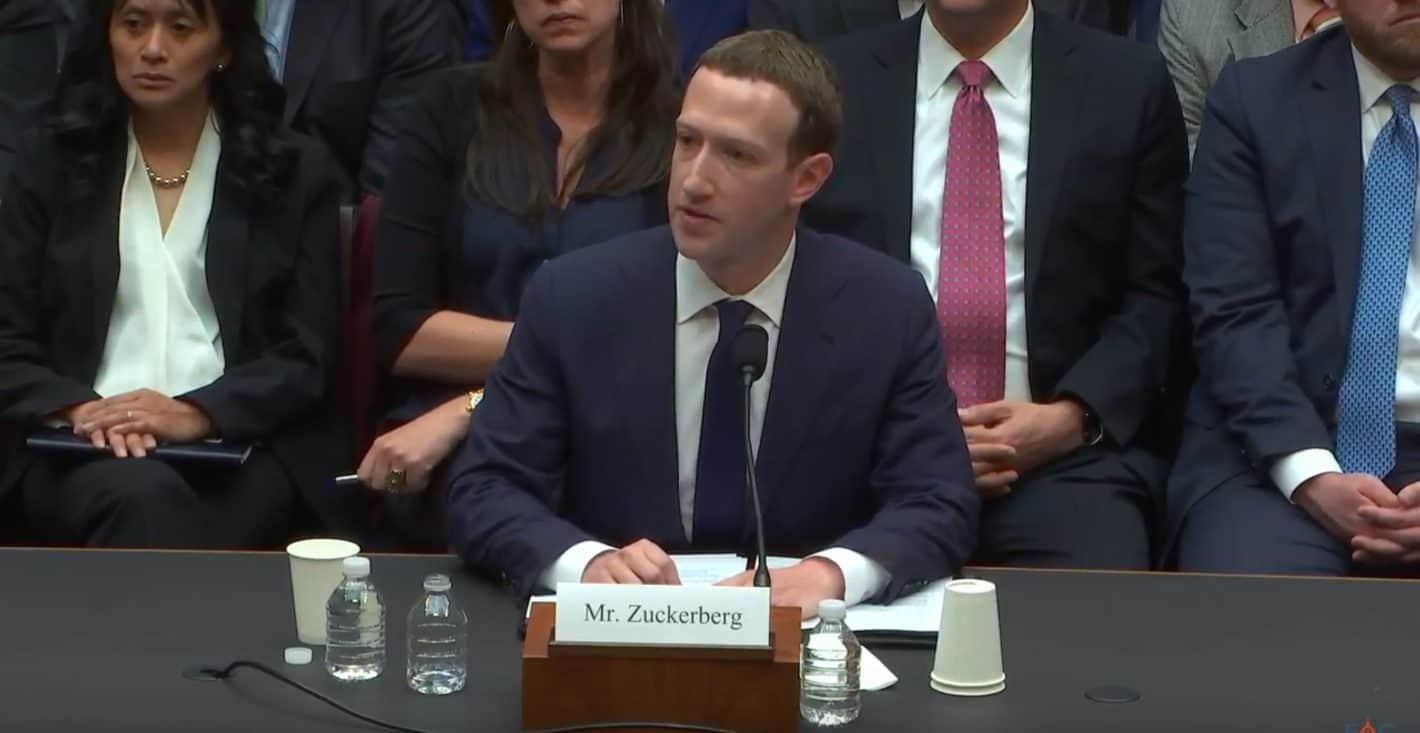 Mark Zuckerberg April 11 2018 Energy Commerce Hearing Screenshot 2