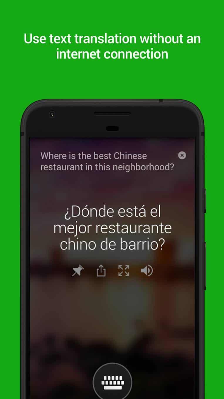 Microsoft Translator Google Play Screenshot 01