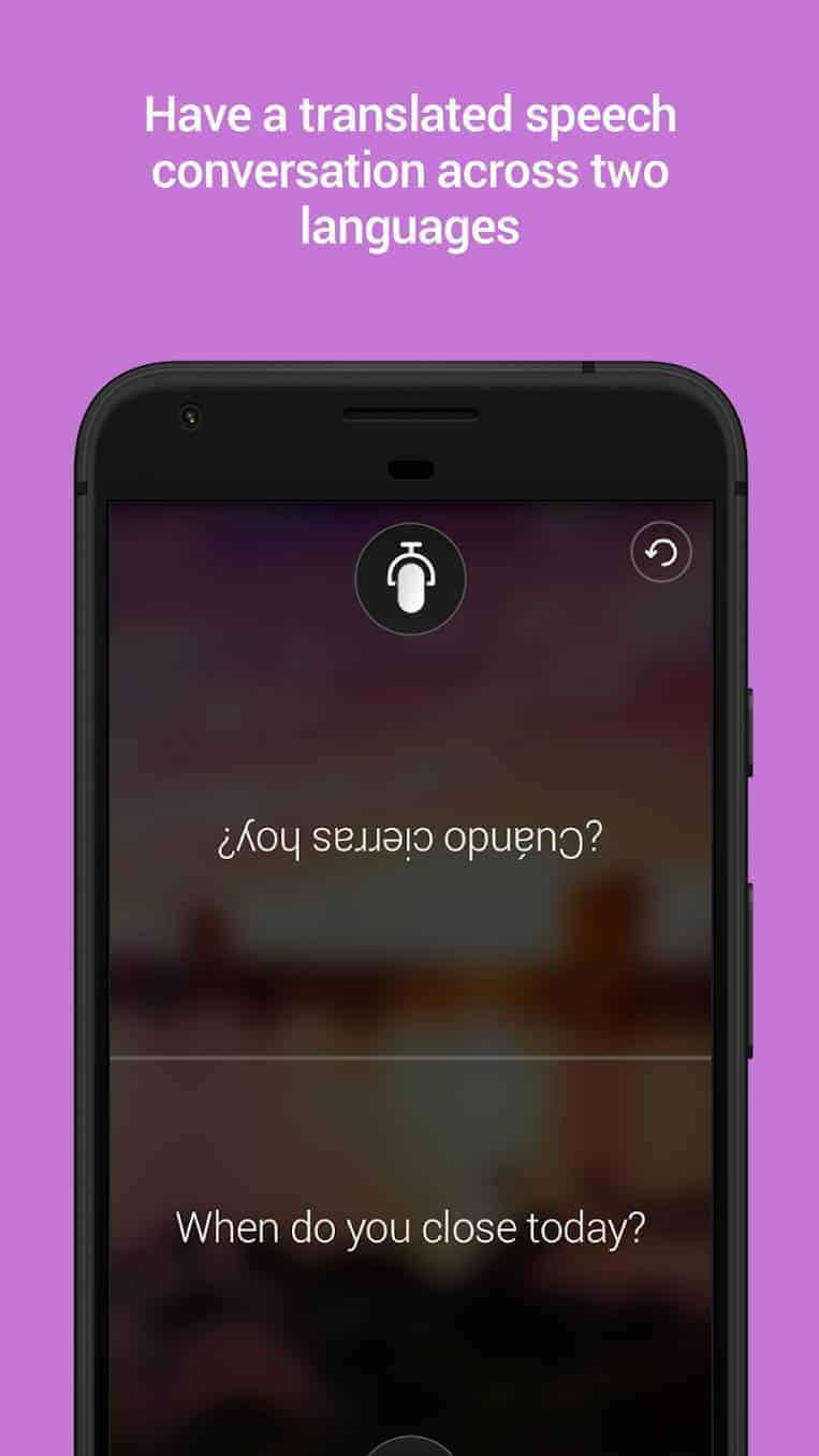 Microsoft Translator Google Play Screenshot 03