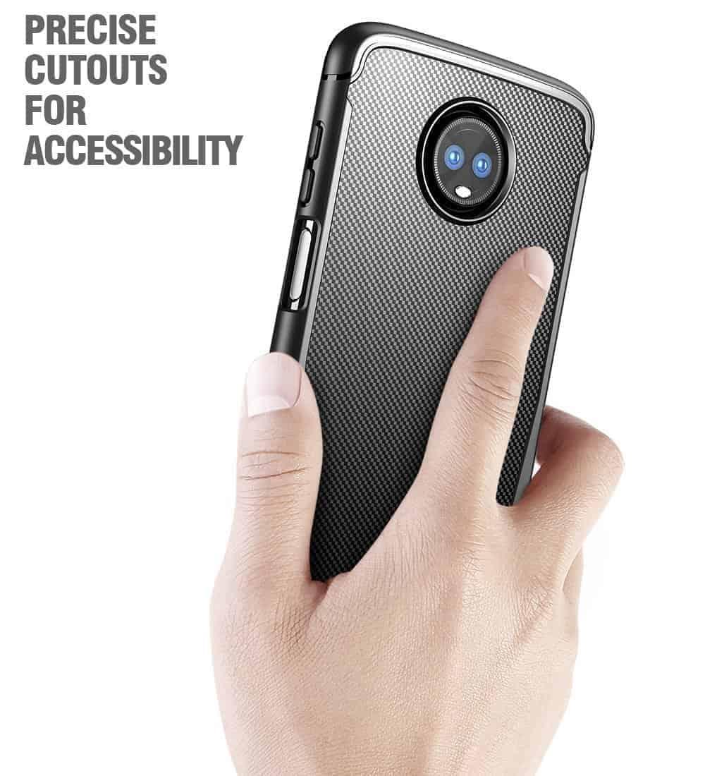 Moto Z3 Play Poetic Karbon Shield 4