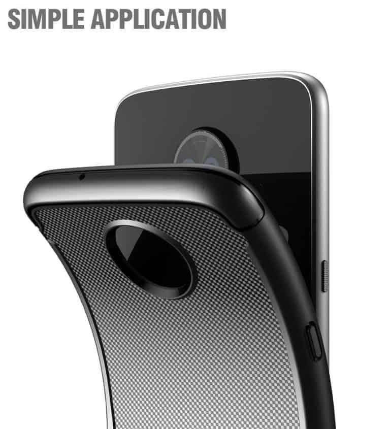 Moto Z3 Play Poetic Karbon Shield 6