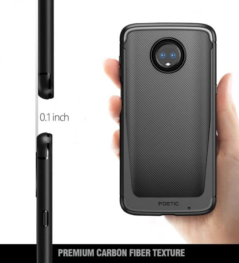 Moto Z3 Play Poetic Karbon Shield 7