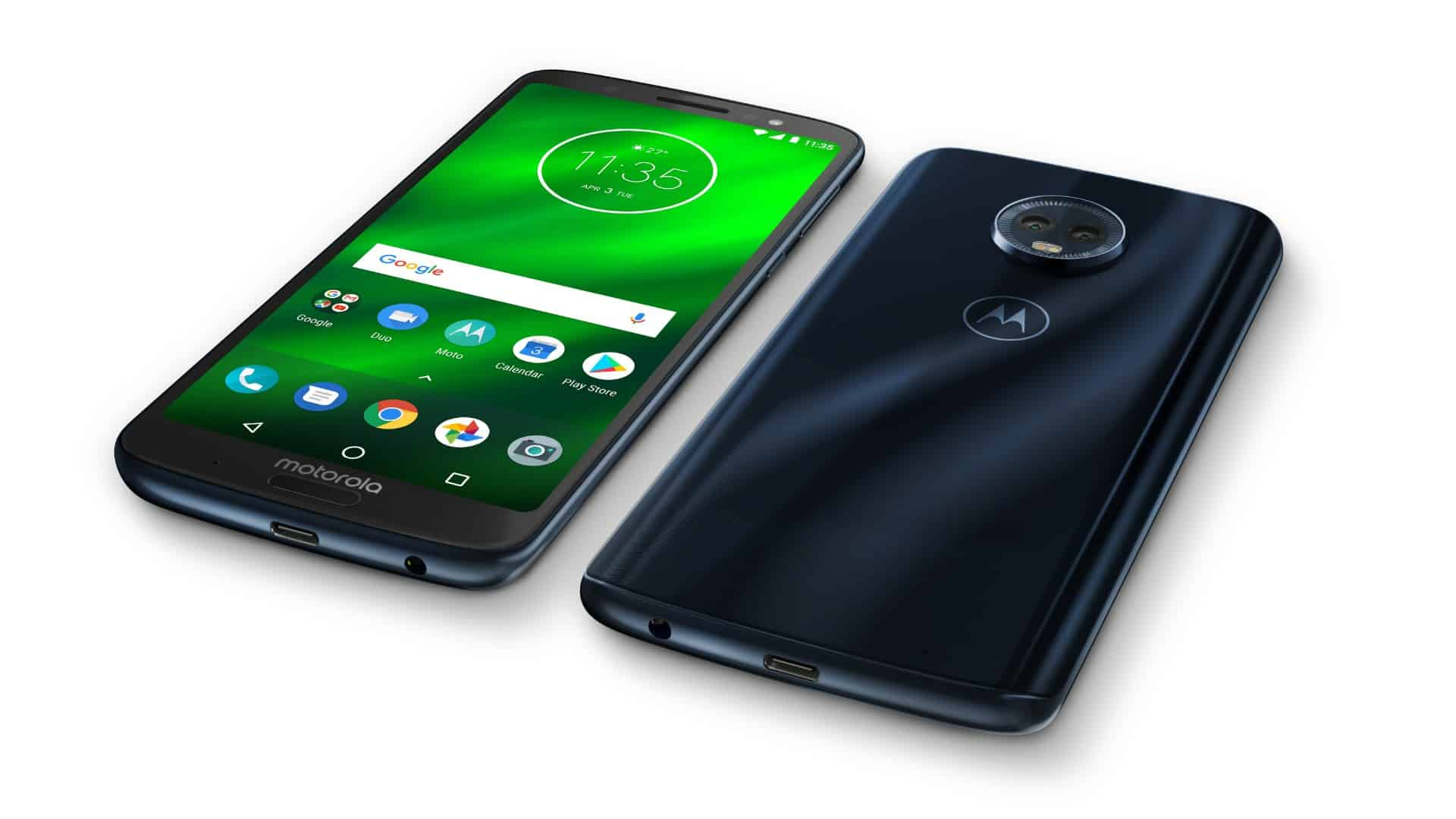 motorola unveils moto g6 plus with 6gb of ram glass back everything you need to know android. Black Bedroom Furniture Sets. Home Design Ideas