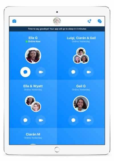 Facebook Introduces Sleep Mode To The Messenger Kids App