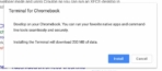 Terminal For Chrome OS Reddit 2
