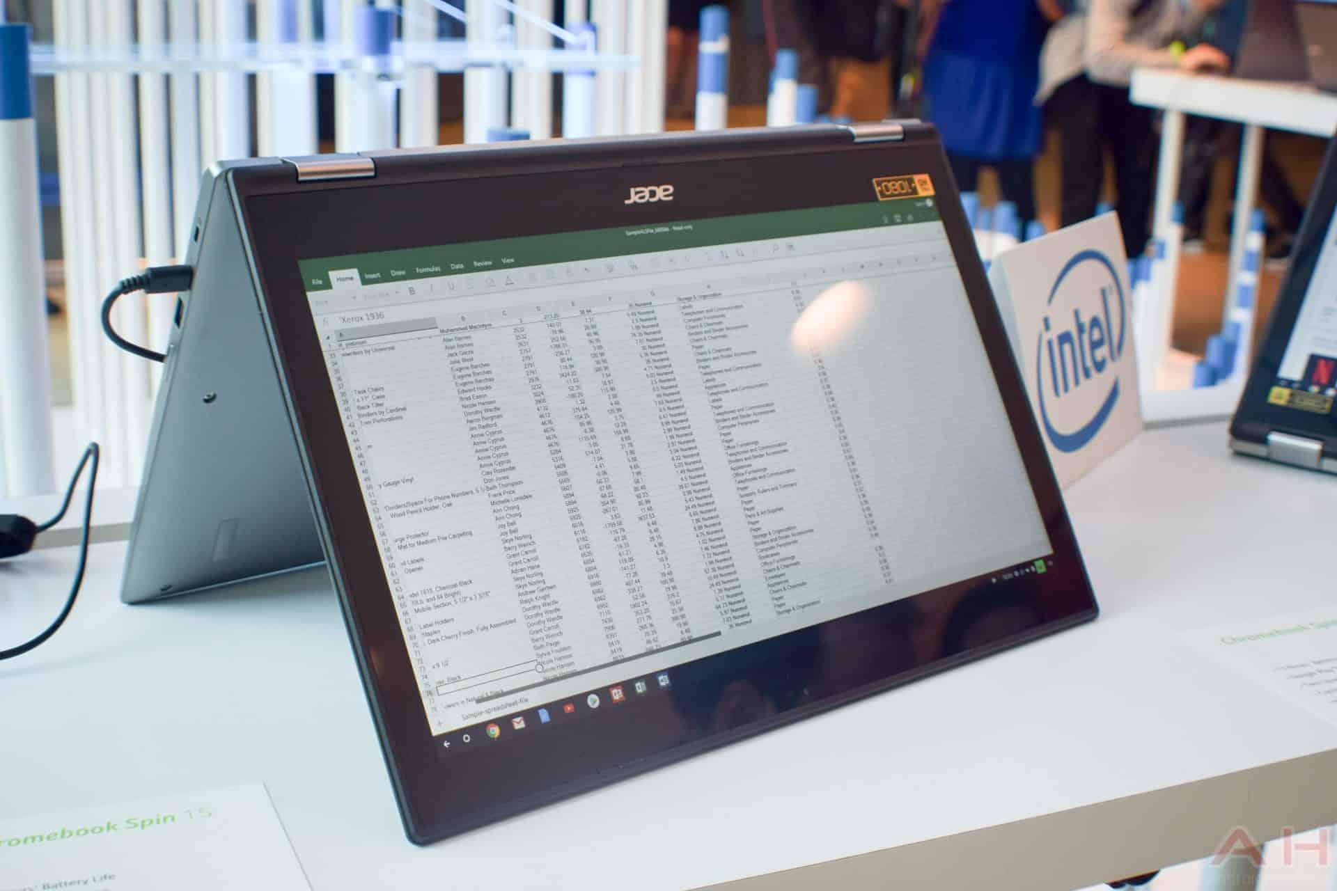 Acer Chromebook Spin 15 AM AH 1