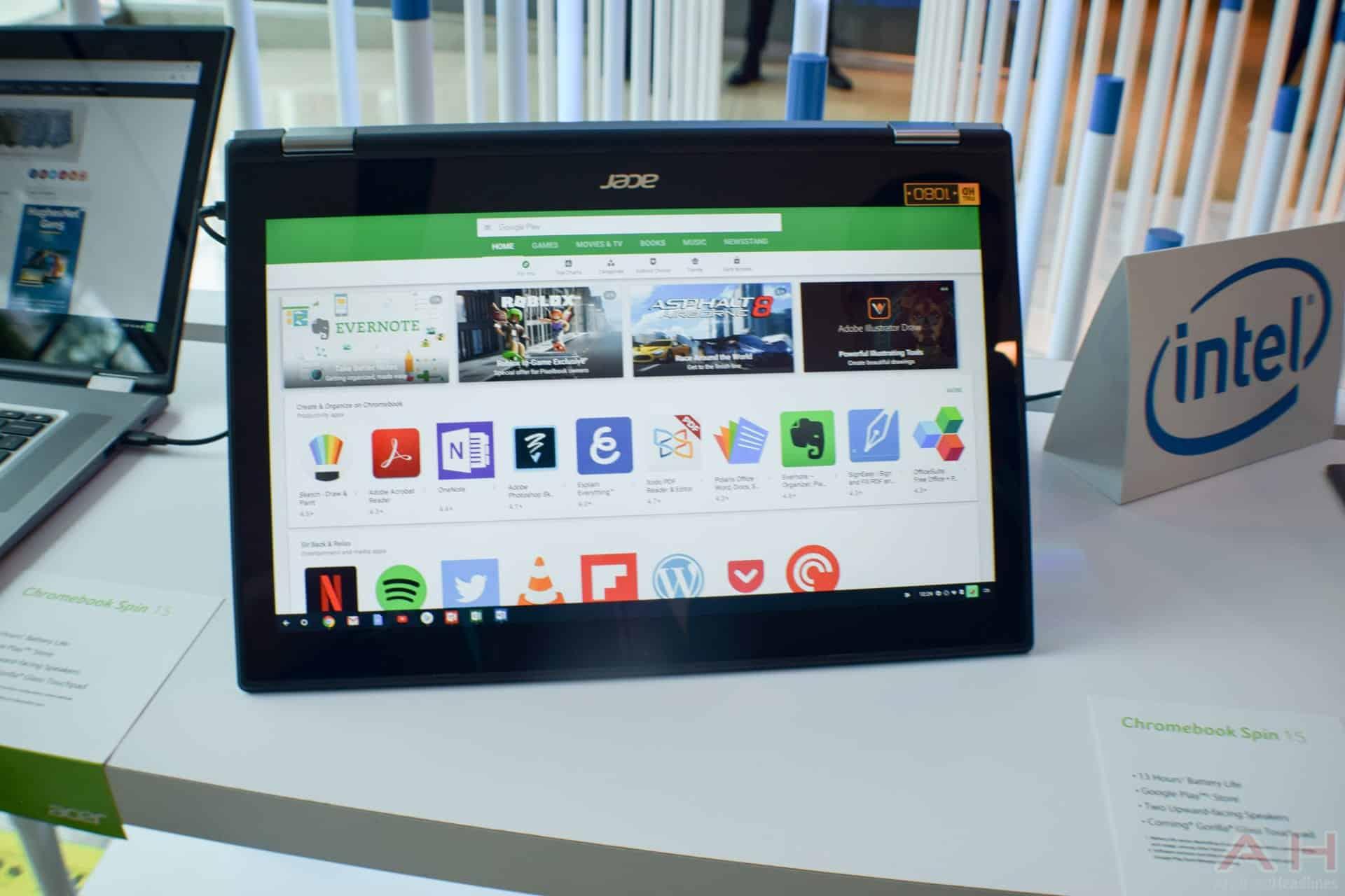 Acer Chromebook Spin 15 AM AH 2