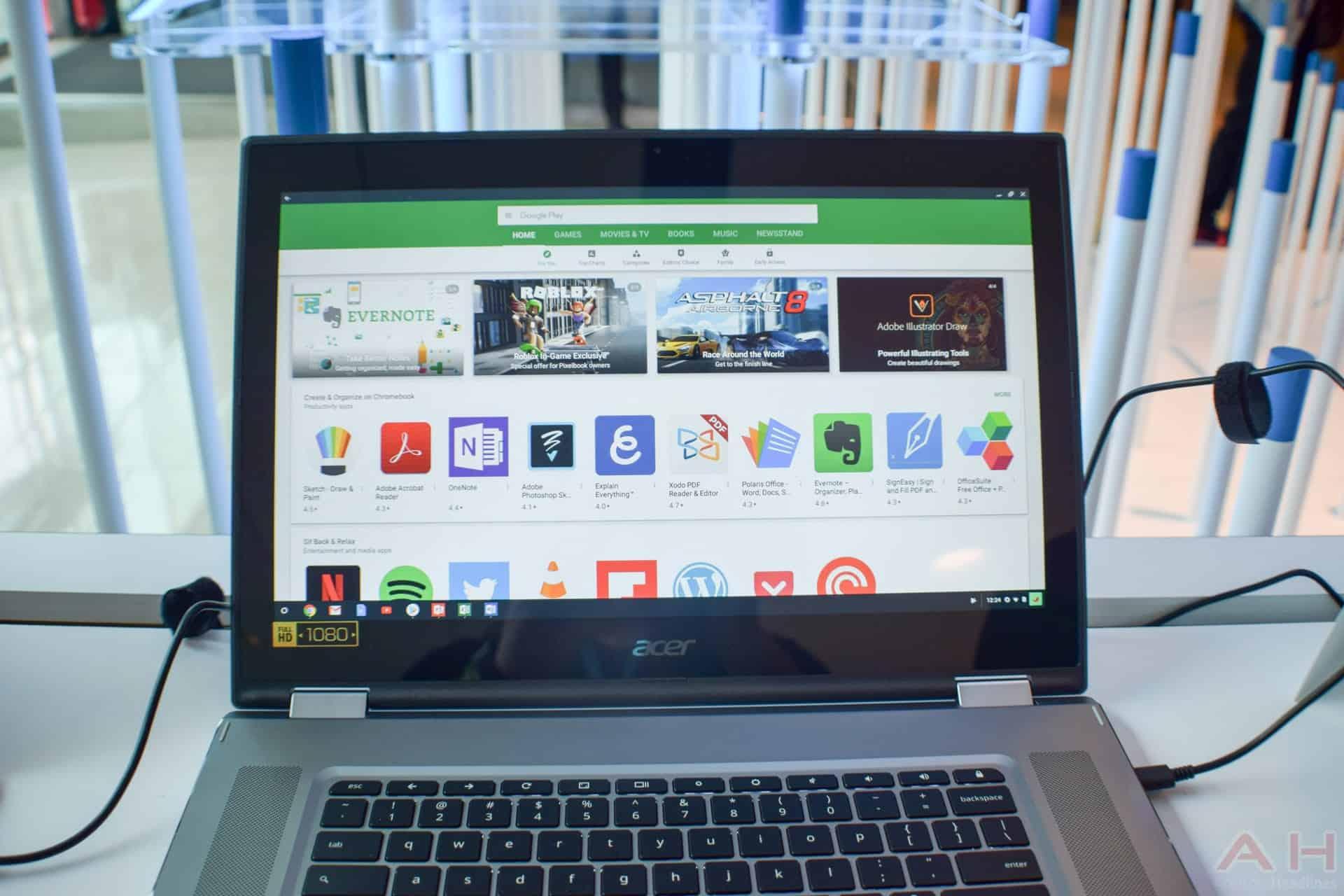 Acer Chromebook Spin 15 AM AH 5